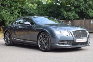 2013/13 Bentley Continental GT Speed Mulliner in Thunder