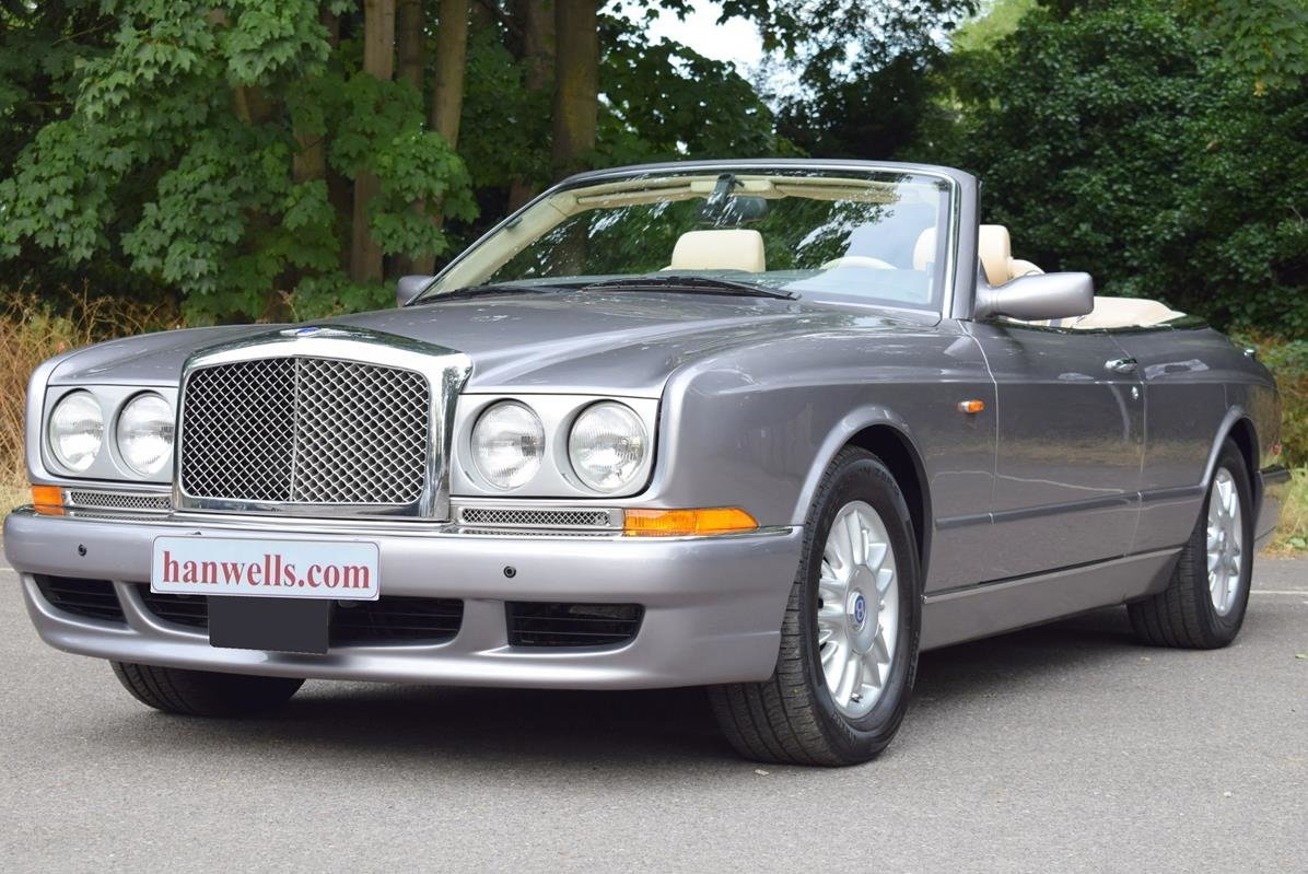 2002/51 Bentley Azure Left Hand Drive in Silver Tempest For Sale (picture 1 of 6)