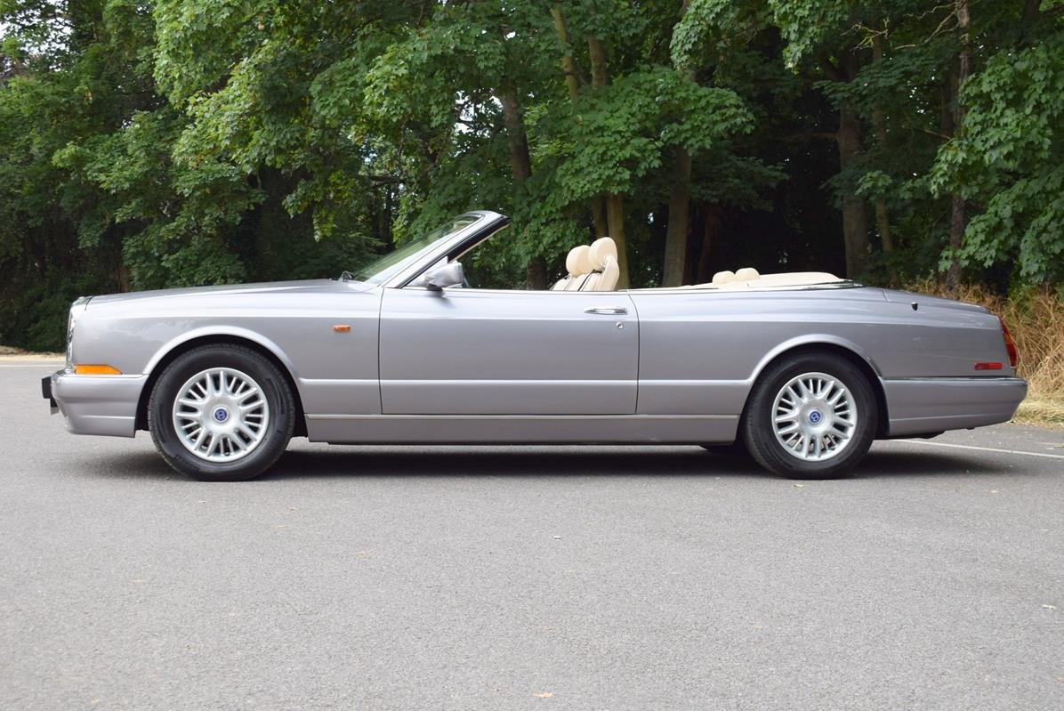 2002/51 Bentley Azure Left Hand Drive in Silver Tempest For Sale (picture 5 of 6)