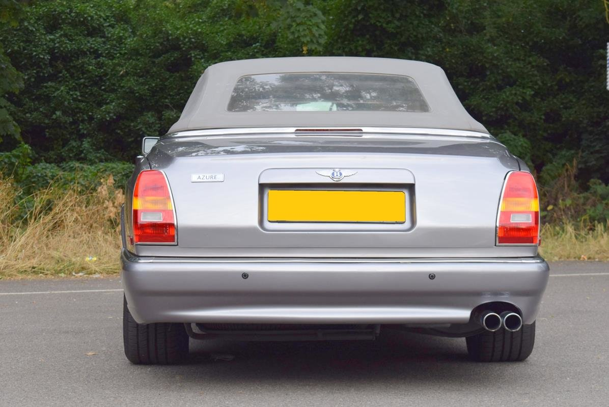2002/51 Bentley Azure Left Hand Drive in Silver Tempest For Sale (picture 6 of 6)