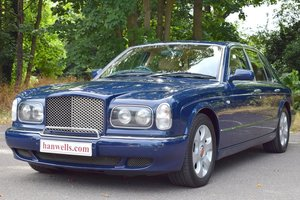 2002/52 Bentley Arnage R in special order Oxford Blue For Sale