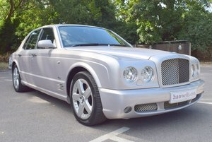 2006/06 Bentley Arnage T Mulliner Level II in Moonbeam