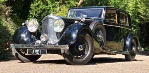 BENTLEY DERBY 4 1/4 Litre MANN EGERTON SPORTS SALOON