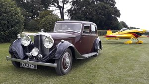 Picture of Bentley 4 ¼ Derby Thrupp & Maberly 1937 Rewire Brakes Trim SOLD
