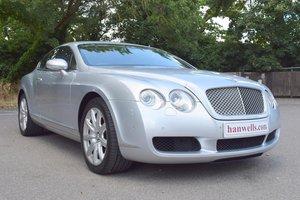 2004/04 Bentley Continental GT in Moonbeam Silver