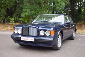 Picture of 1996 Model/N Bentley Turbo R in Peacock Blue For Sale