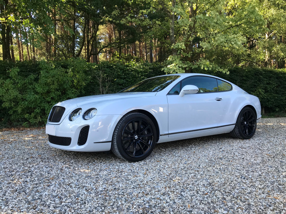 2010 Continental GT Supersports - just 12,700 miles For Sale (picture 1 of 6)
