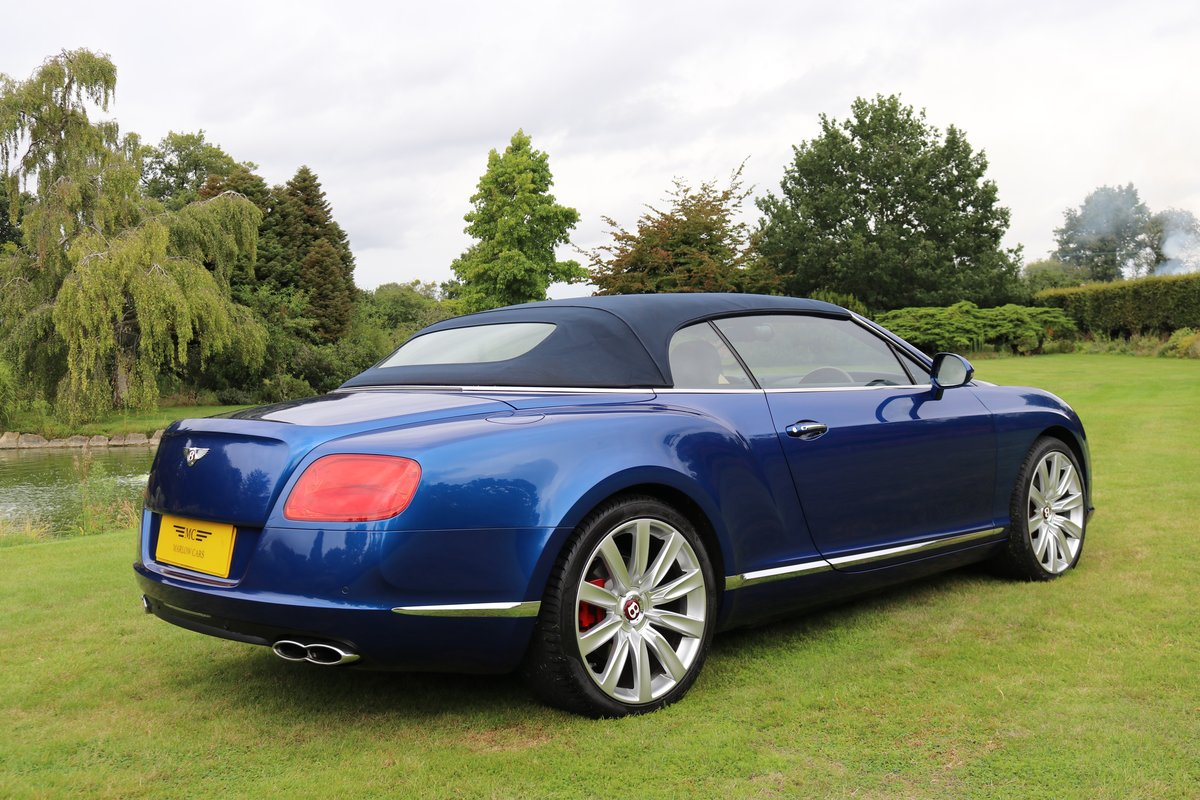 2012 BENTLEY GTC V8 For Sale (picture 6 of 6)