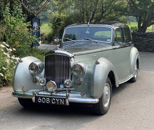 1955 Bentley R Type Automatic Sports Saloon B250ZY For Sale