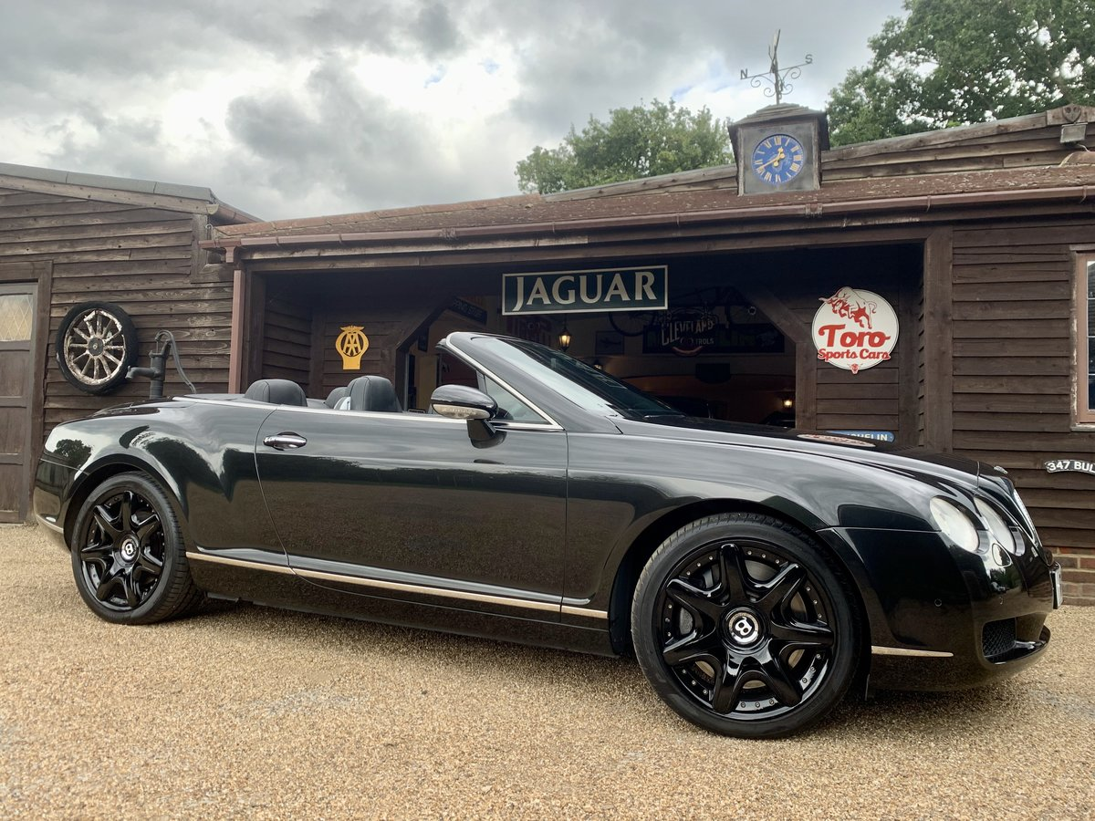 2008 BENTLEY CONTINENTAL GTC MULLINER DRIVING SPEC' For Sale (picture 1 of 6)