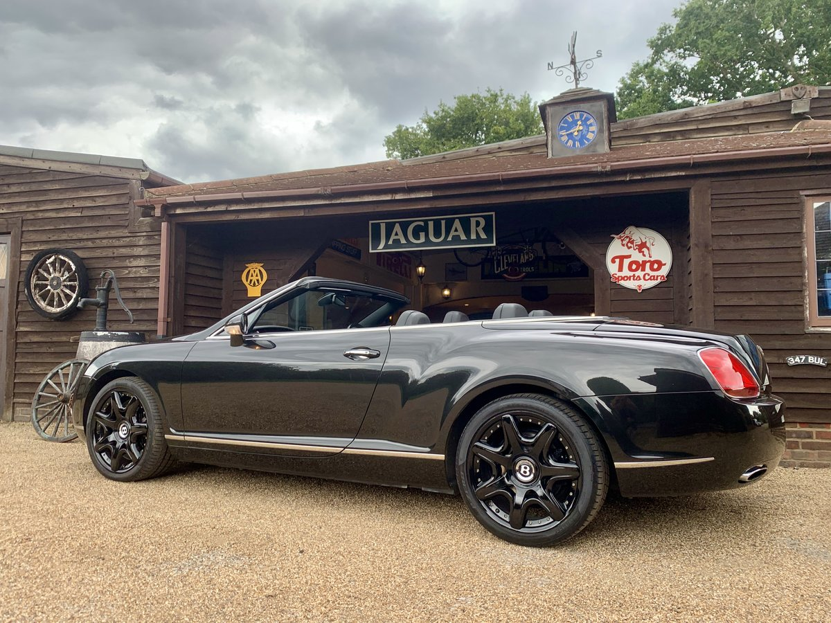 2008 BENTLEY CONTINENTAL GTC MULLINER DRIVING SPEC' For Sale (picture 2 of 6)