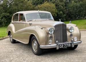 1952 Bentley MKVI 'Big Bore' H.J.M. Lightweight Saloon B38MD For Sale