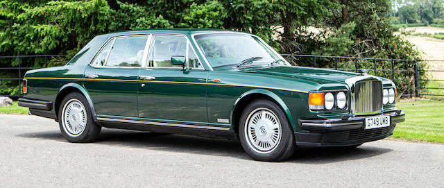 1990 Bentley Mulsanne For Sale by Auction