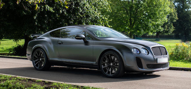 2010 Bentley Continental Supersports For Sale by Auction