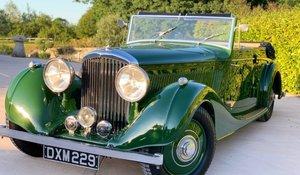 1937 Bentley 4 ¼ Vanden Plas Tourer for auction 19 September For Sale by Auction