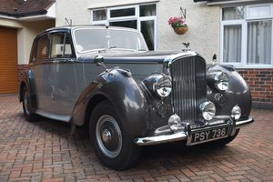 Picture of Lot 55 - A 1950 Bentley Mk VI Standard Sports - 23/09/2020 SOLD by Auction