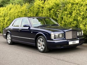2001 Bentley Arnage Red Label.