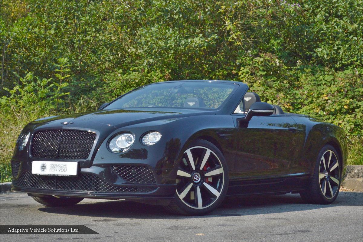 Big Spec 2016 (16) Bentley Continental GTC V8 S Mulliner For Sale (picture 1 of 6)