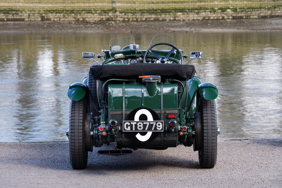 1931 Bentley 4  Litre Birkin Blower Team Car Specification For Sale (picture 3 of 12)