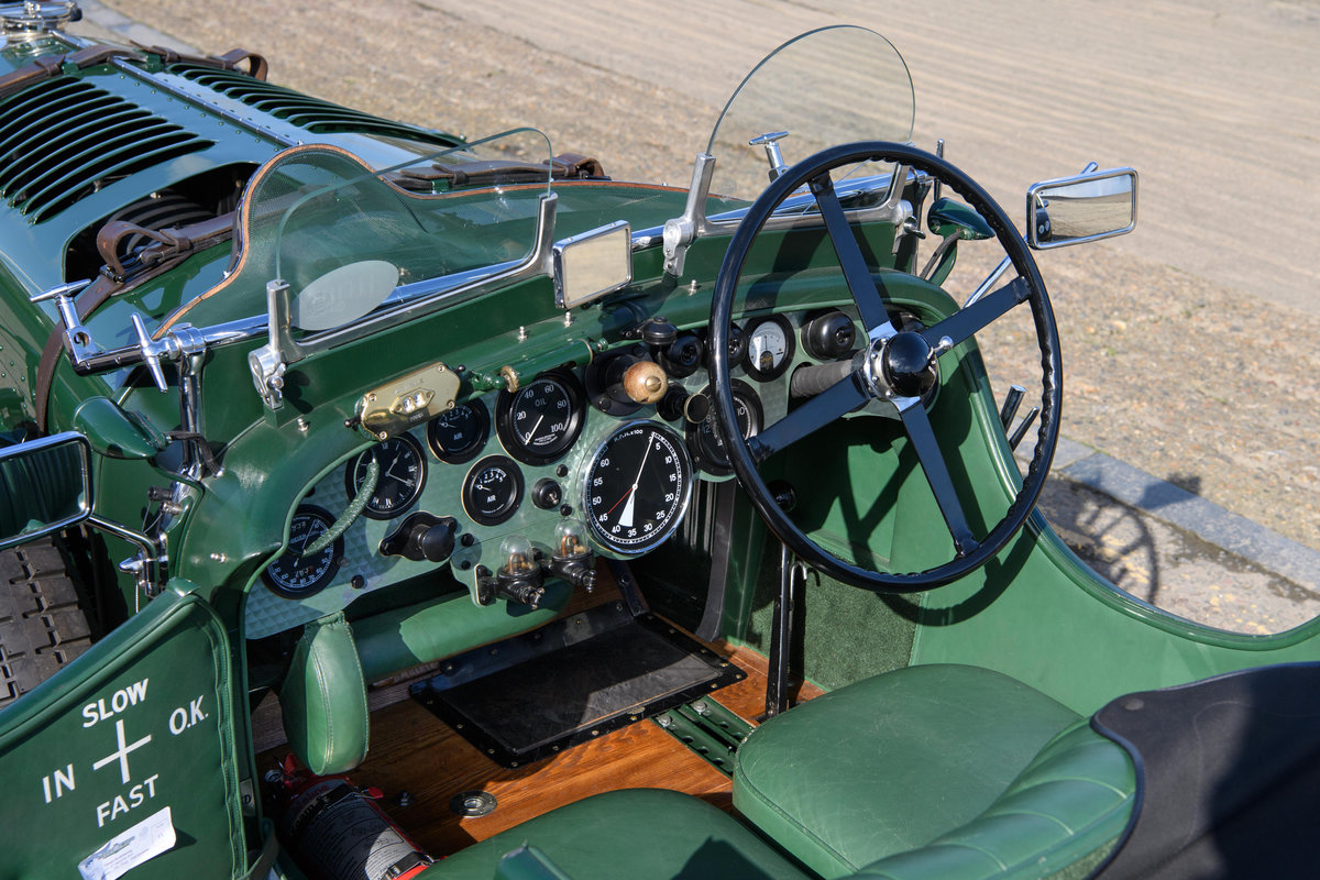 1931 Bentley 4  Litre Birkin Blower Team Car Specification For Sale (picture 4 of 12)