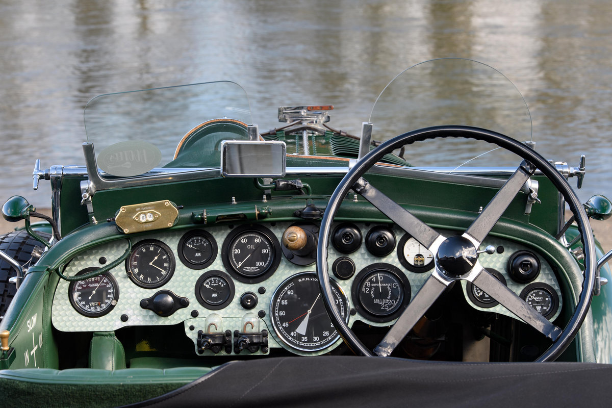 1931 Bentley 4  Litre Birkin Blower Team Car Specification For Sale (picture 12 of 12)