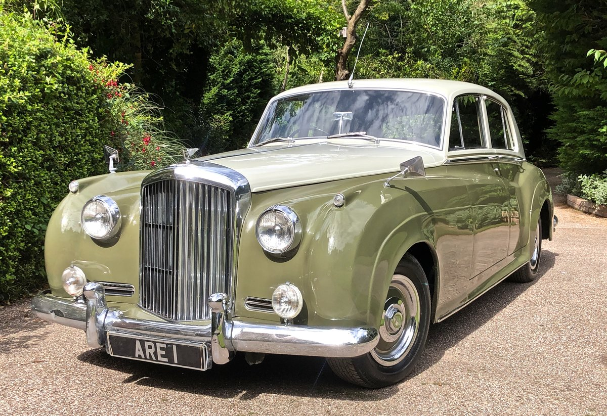 1956 BENTLEY S1 SPORTS SALOON documented only 31k miles For Sale (picture 1 of 6)