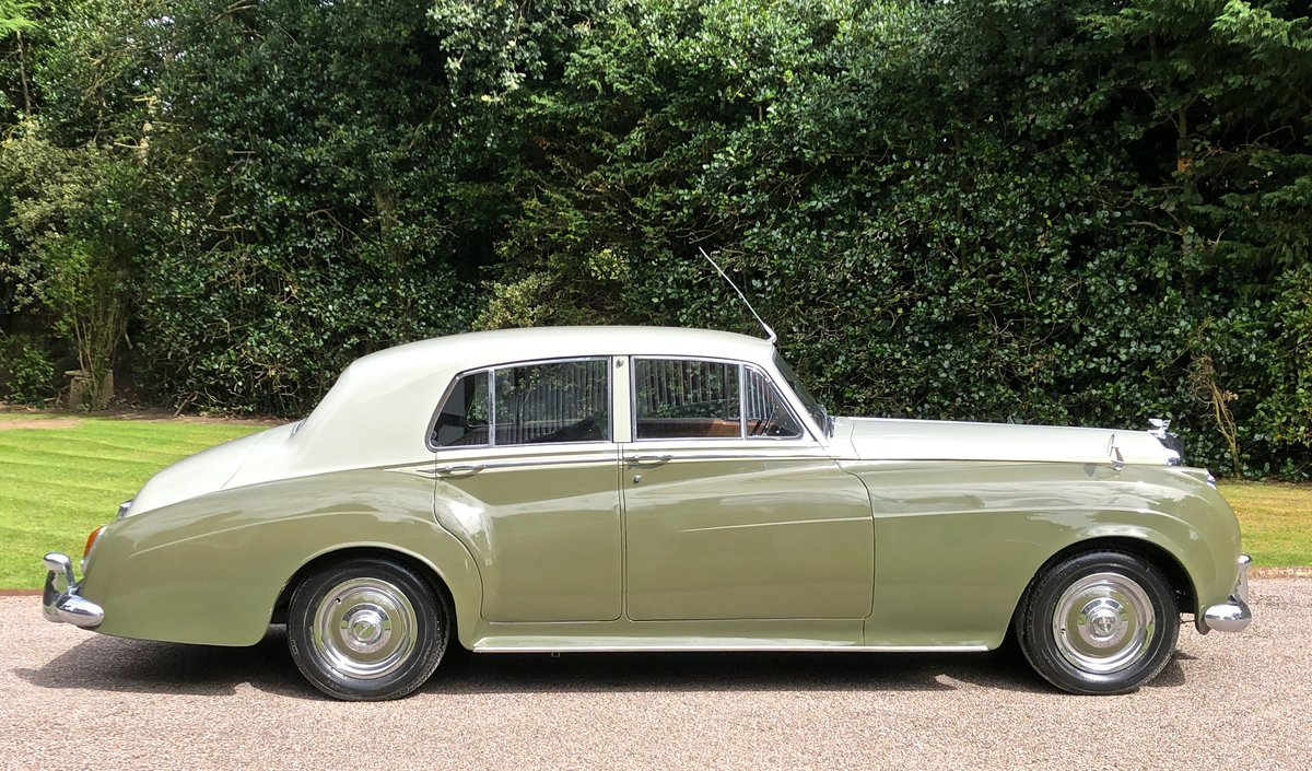 1956 BENTLEY S1 SPORTS SALOON documented only 31k miles For Sale (picture 3 of 6)