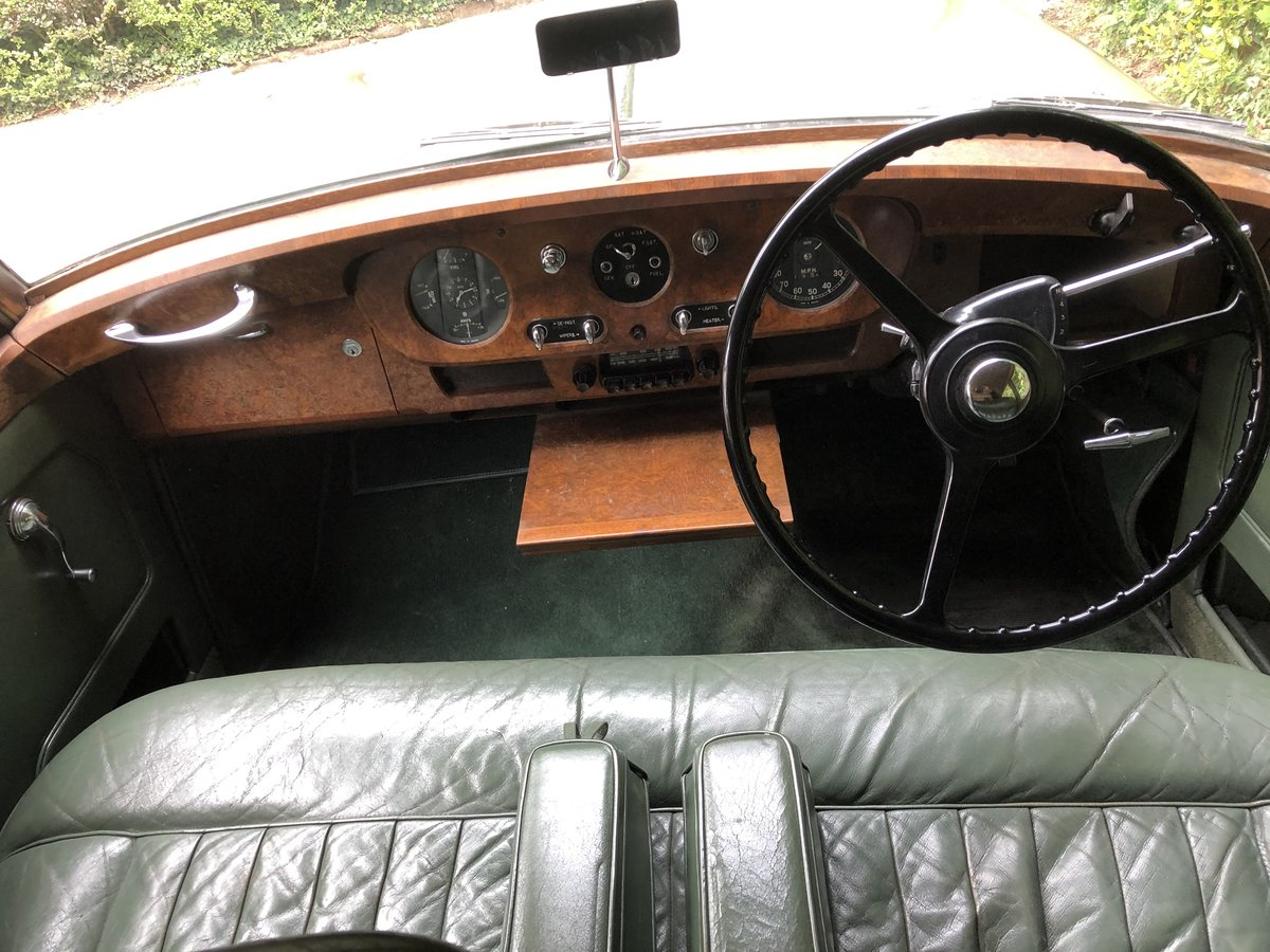 1956 BENTLEY S1 SPORTS SALOON documented only 31k miles For Sale (picture 4 of 6)