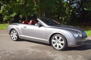 2007/56 Bentley Continental GTC in Silver Tempest