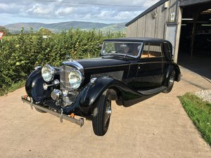 Bentley 4.25L Sedanca De Ville by James Young