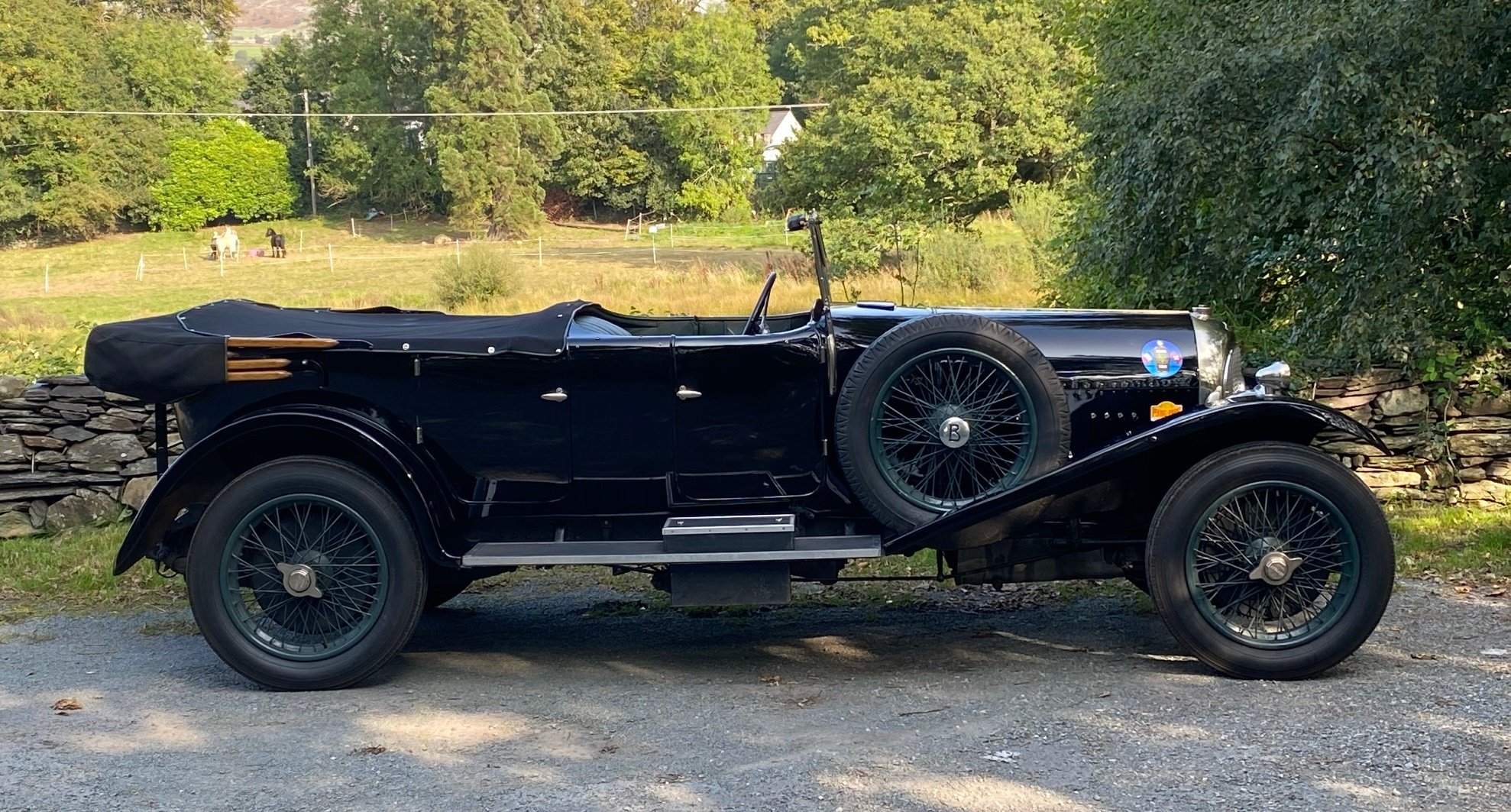 1926 Bentley 3 Ltr Gurney Nutting Open Tourer PH1465 For Sale (picture 5 of 6)