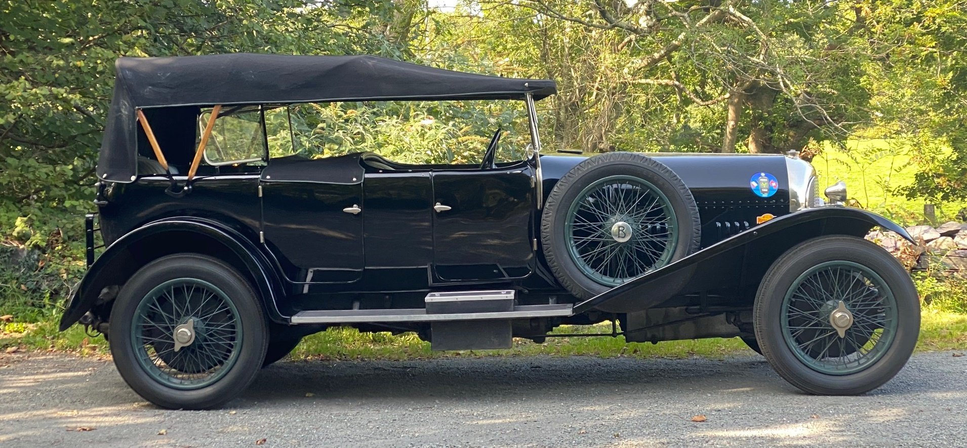 1926 Bentley 3 Ltr Gurney Nutting Open Tourer PH1465 For Sale (picture 6 of 6)