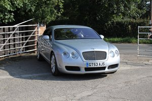 2004 Bentley Continental GT 38000 Miles From New For Sale