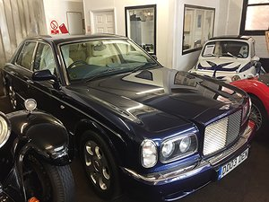 2003 BENTLEY ARNAGE IMMACULATE LOW OWNERSHIP 11000 miles