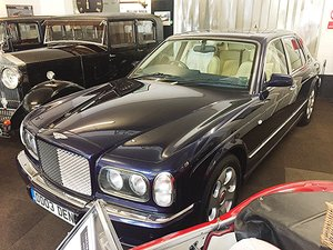 BENTLEY ARNAGE IMMACULATE LOW OWNERSHIP LOW MILEAGE