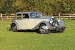 Picture of 1937 Bentley 4 1/4  Park Ward Sports Saloon Derby For Sale