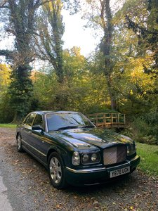 2001 Bentley Arnage Red Label Vermont Green