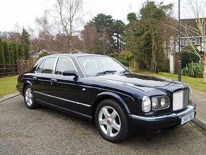 1998 BENTLEY ARNAGE GREEN LABEL UPGRADED STUNNING  COLOUR