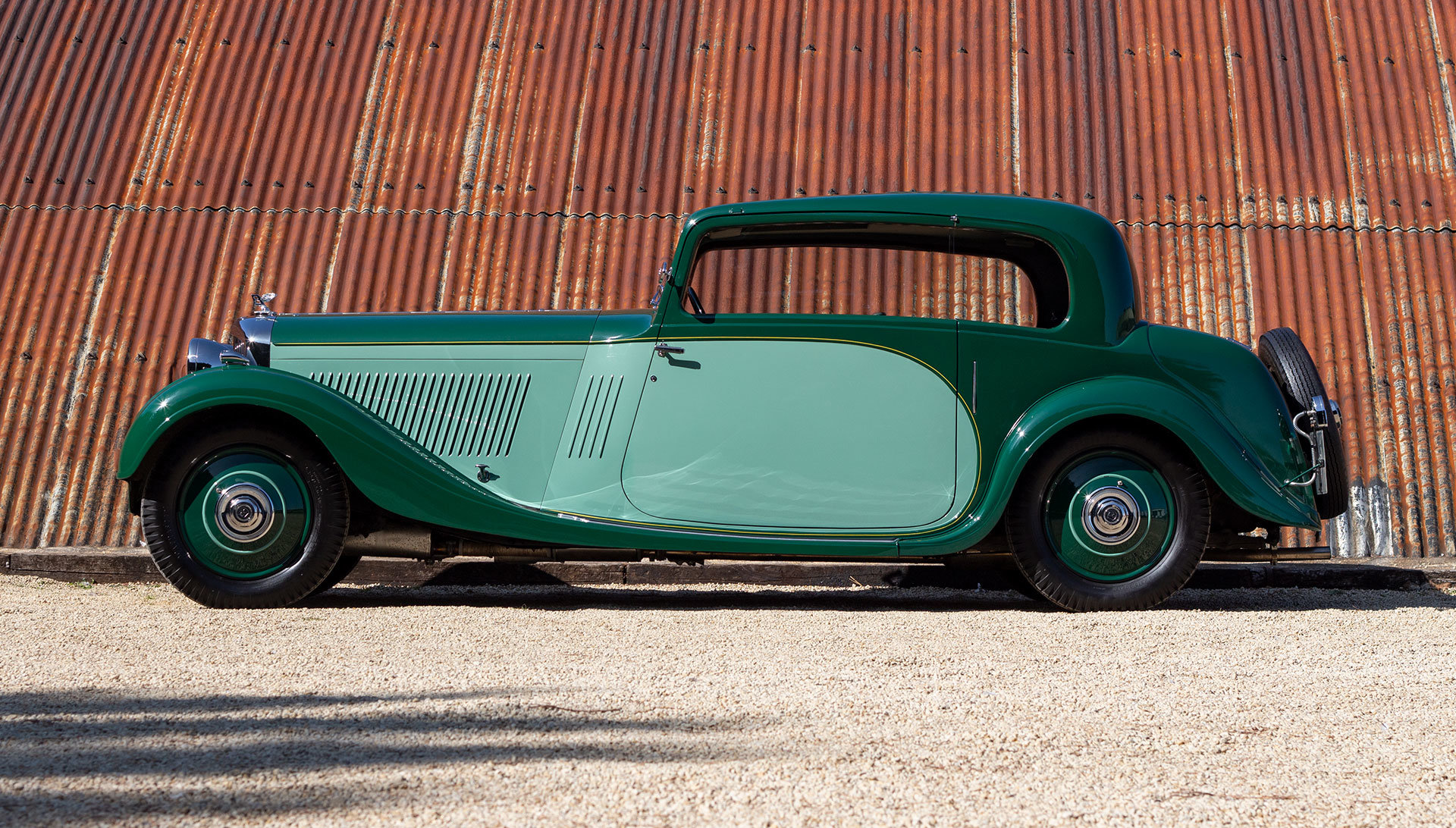 1934 Bentley 3½ Litre Pillarless Coupé by Gurney Nutting For Sale (picture 2 of 17)