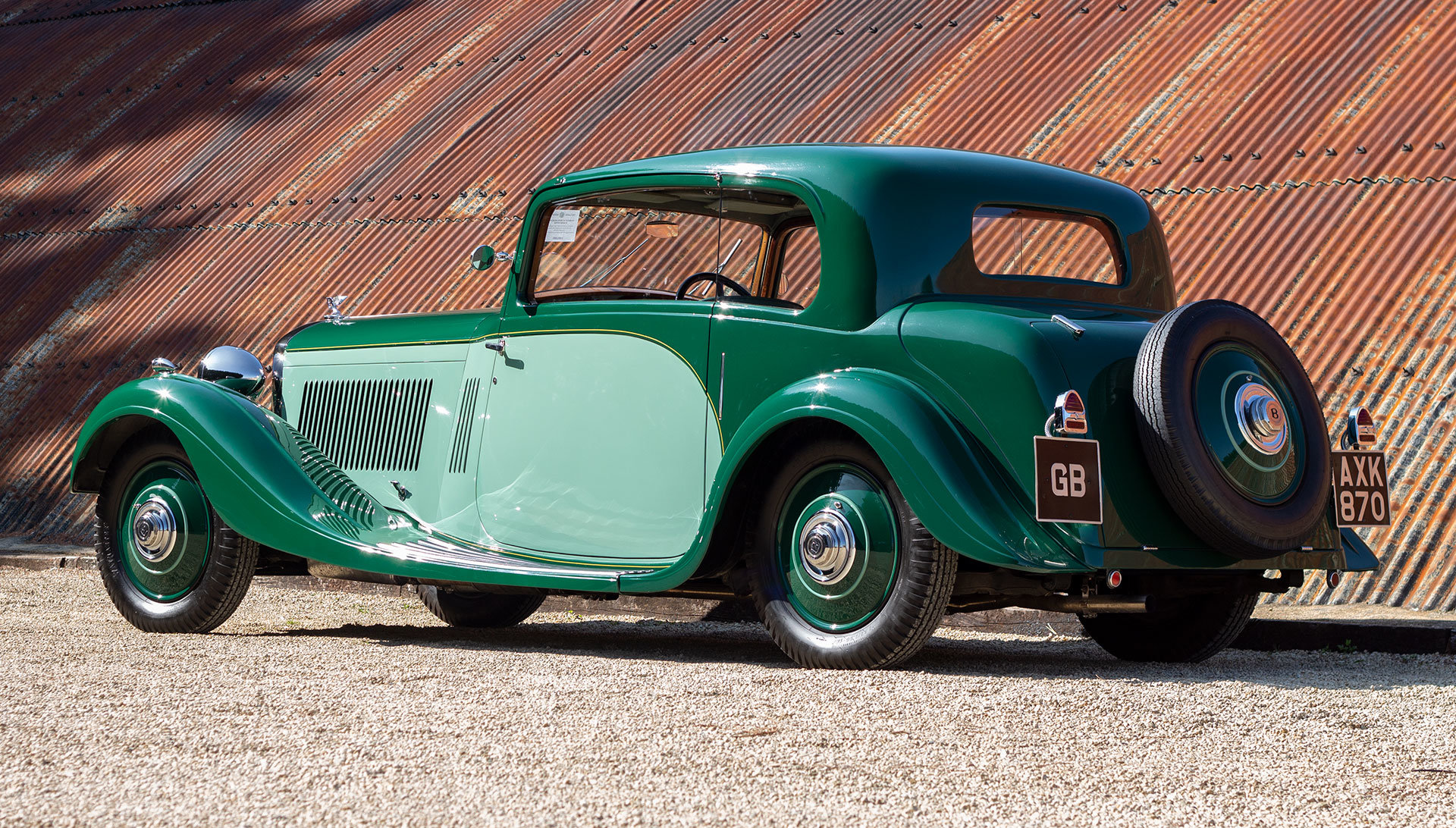 1934 Bentley 3½ Litre Pillarless Coupé by Gurney Nutting For Sale (picture 3 of 17)
