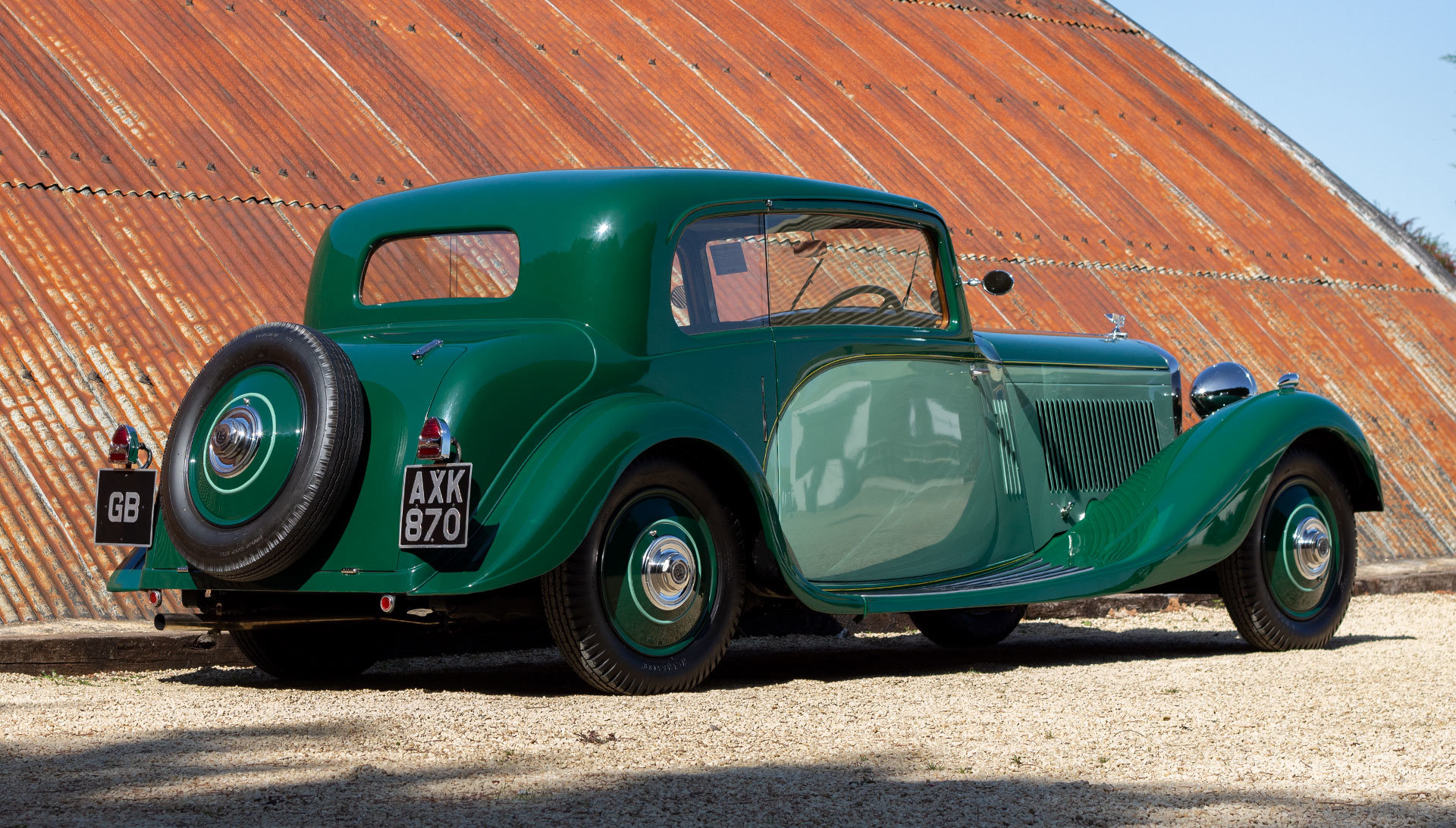 1934 Bentley 3½ Litre Pillarless Coupé by Gurney Nutting For Sale (picture 5 of 17)