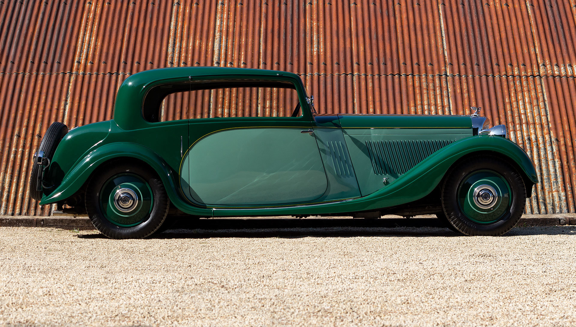 1934 Bentley 3½ Litre Pillarless Coupé by Gurney Nutting For Sale (picture 6 of 17)