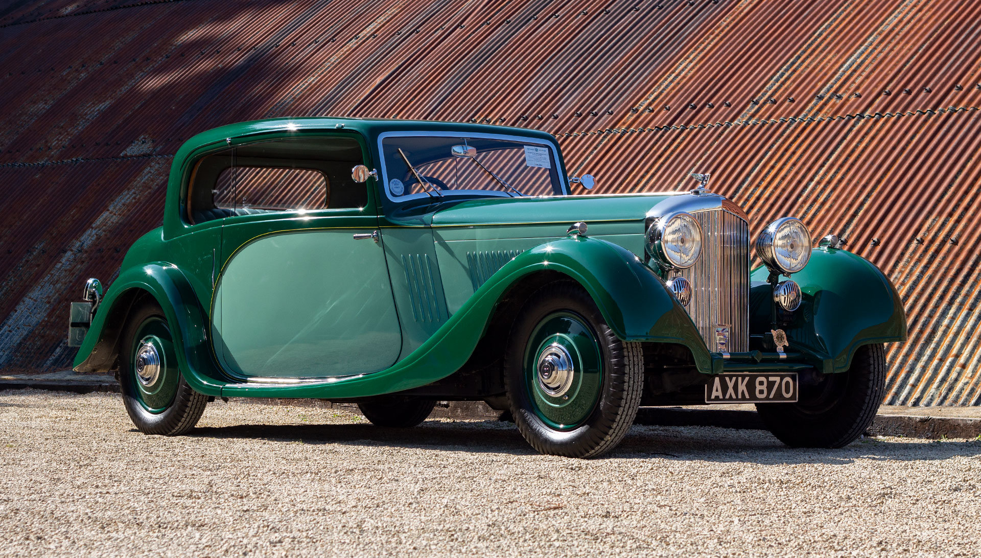 1934 Bentley 3½ Litre Pillarless Coupé by Gurney Nutting For Sale (picture 7 of 17)