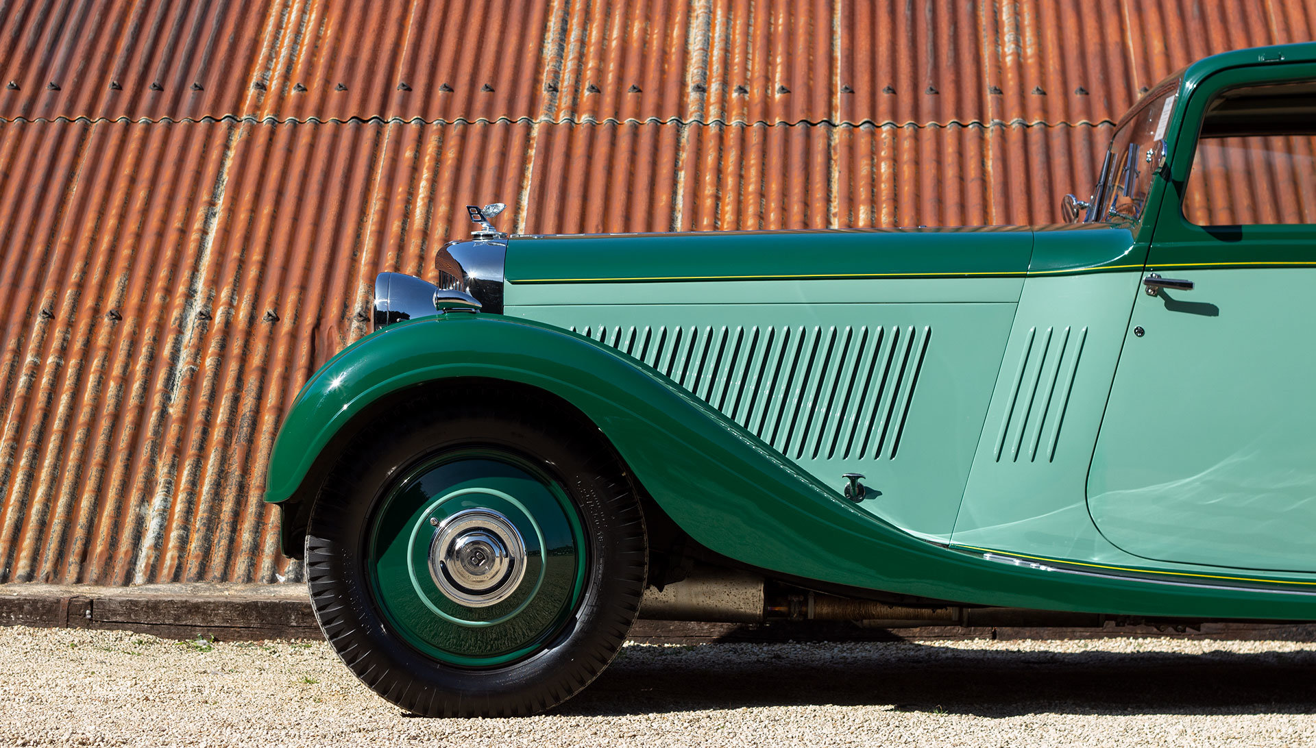 1934 Bentley 3½ Litre Pillarless Coupé by Gurney Nutting For Sale (picture 8 of 17)