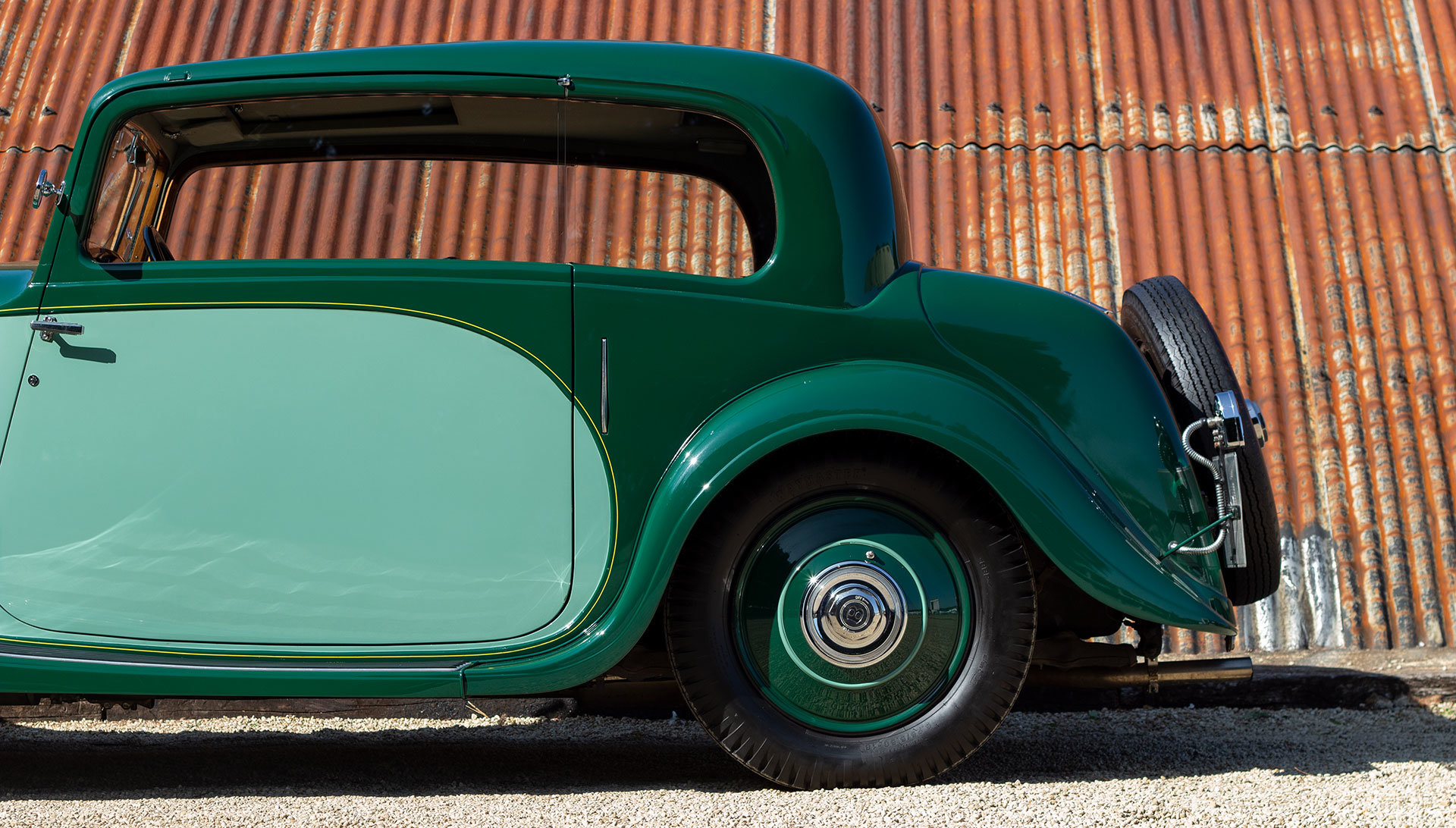 1934 Bentley 3½ Litre Pillarless Coupé by Gurney Nutting For Sale (picture 9 of 17)