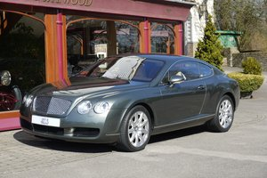 Bentley Continental GT. June 2004
