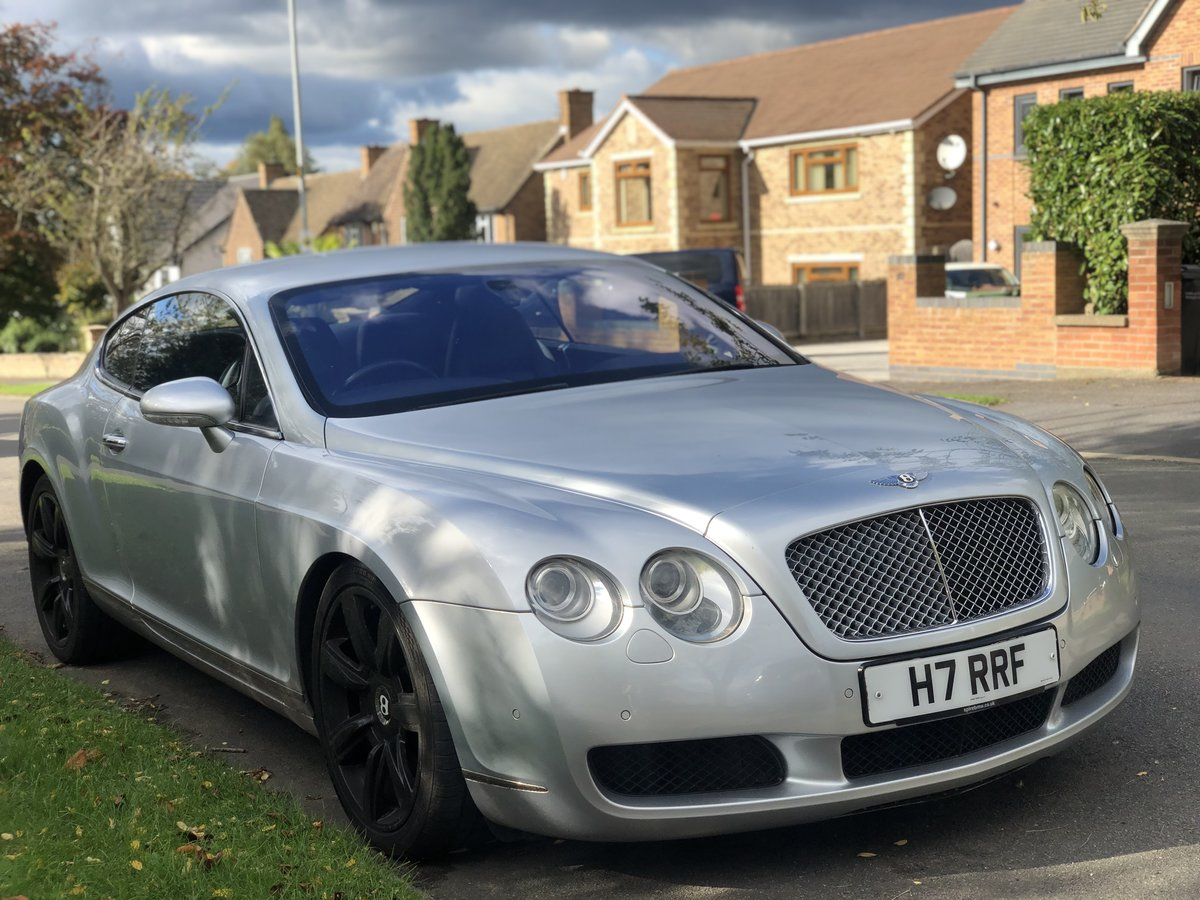 2004 Bentley GT w12 twin turbo For Sale (picture 1 of 3)