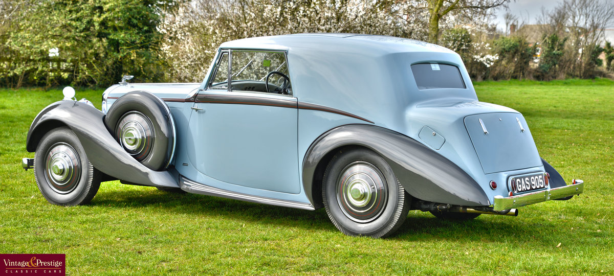 1938 DERBY BENTLEY 4.25 MR OVERDRIVE SERIES COUPE BY DE VILL For Sale (picture 2 of 6)