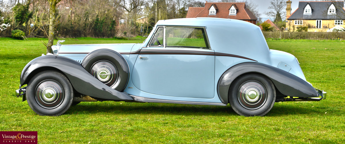 1938 DERBY BENTLEY 4.25 MR OVERDRIVE SERIES COUPE BY DE VILL For Sale (picture 3 of 6)