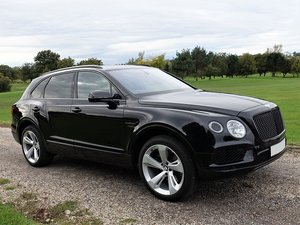 2016 Bentley Bentayga W12 Auto - Blk/Blk - 28,440 mls only